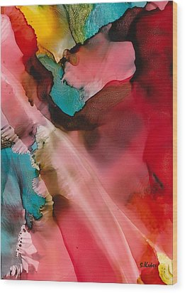 Light From Above Wood Print by Susan Kubes