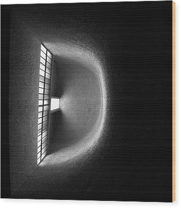 Light Gradient - 2 Of 3 Wood Print by Alan Todd