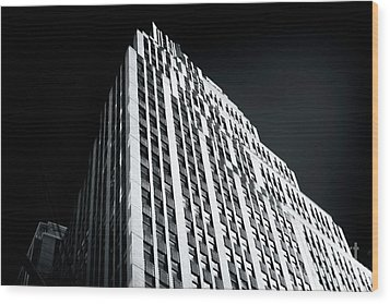 Light In The Naked City Wood Print by John Rizzuto