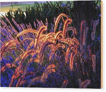 Light Is Good Wood Print by DEBRON Art