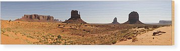 Light On Monument Valley  Wood Print by Harold Piskiel