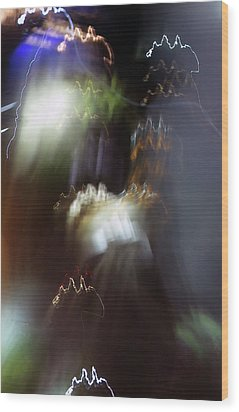 Light Paintings - No 4 - Source Energy Wood Print