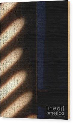Light Rays Wood Print