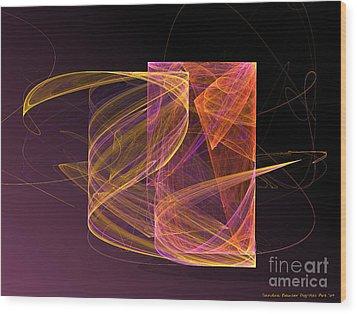 Lightbox Wood Print