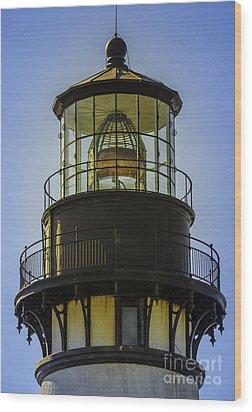 Lighthouse Light Wood Print