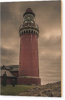 Wood Print featuring the photograph Lighthouse by Odd Jeppesen