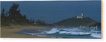 Lighthouse Puerto Rico Wood Print by Antonio Martinho
