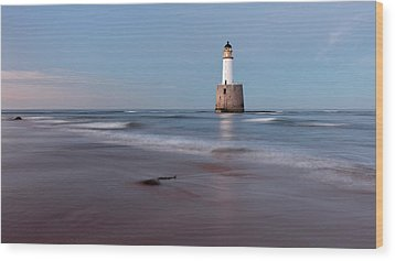 Wood Print featuring the photograph Lighthouse by Grant Glendinning