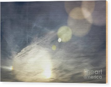 Wood Print featuring the photograph Lightshow by Colleen Kammerer