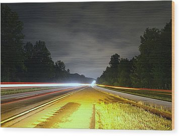 Wood Print featuring the photograph Lightworks by Alex Grichenko