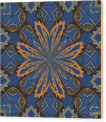 Like Moths To A Flame Wood Print