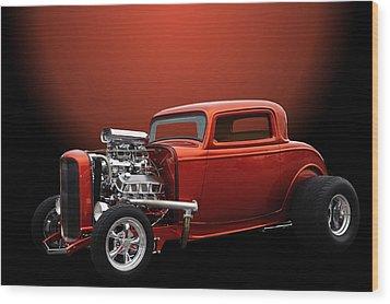 Lil Deuce Coupe Wood Print by Jim  Hatch