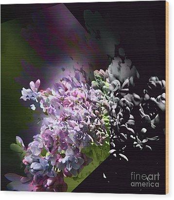 Lilac 2 Wood Print
