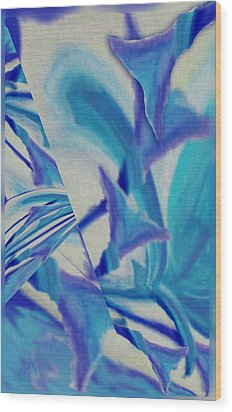 Lily Abstract #1 Wood Print