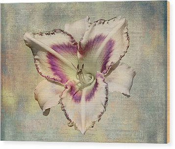 Lily For A Day Wood Print by Angela A Stanton