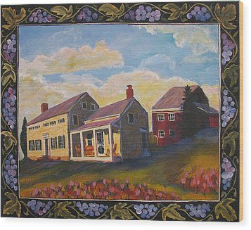 Lily Hill Wood Print