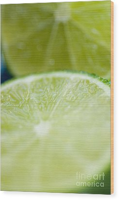 Lime Cut Wood Print by Ray Laskowitz - Printscapes