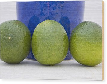Lime Wood Print by Frank Tschakert