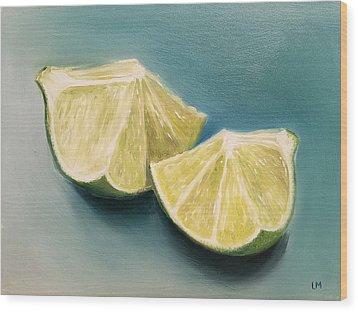 Limes Wood Print