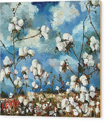 Limestone County Cotton Wood Print by Carole Foret