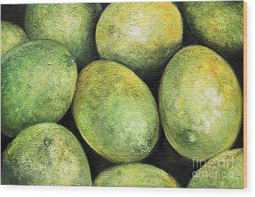 Limones Wood Print