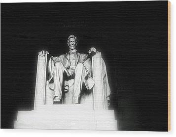 Lincoln Memorial  Wood Print by Kristina Randal