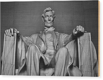 Lincoln Memorial Wood Print by Kyle Hanson