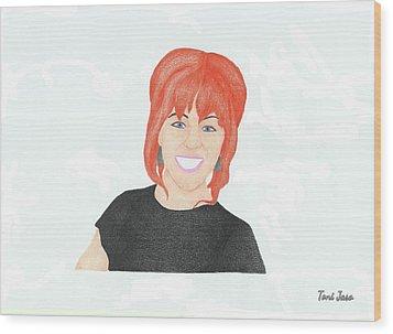 Lindsey Stirling Wood Print