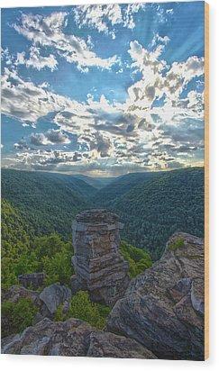 Lindy Overlook Wood Print
