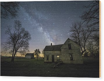 Wood Print featuring the photograph Linear by Aaron J Groen