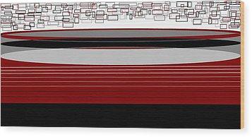 Lines 3 Wood Print