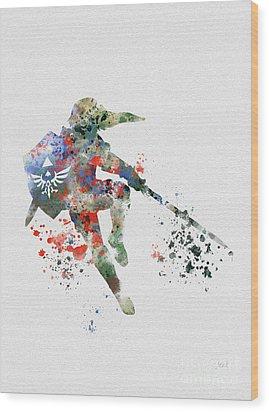 Link Wood Print