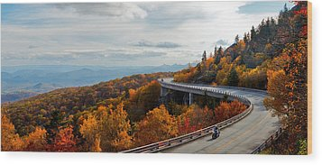 Linn Cove Viaduct Wood Print