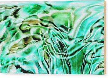 Liquid Wood Print by Eileen Shahbazian