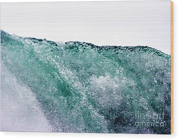 Wood Print featuring the photograph Liquid Horizon by Dana DiPasquale