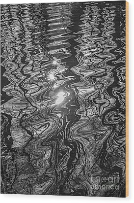 Liquid Light Wood Print
