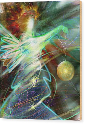 Lite Brought Forth By The Archkeeper Wood Print by Stephen Lucas