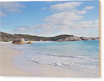 Wood Print featuring the photograph Little Beach, Australia by Ivy Ho