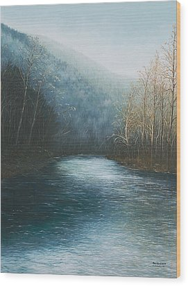 Little Buffalo River Wood Print