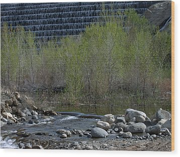 Wood Print featuring the photograph Little Dam by Ivete Basso Photography