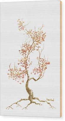 Little Tree 52 Wood Print by Sean Seal