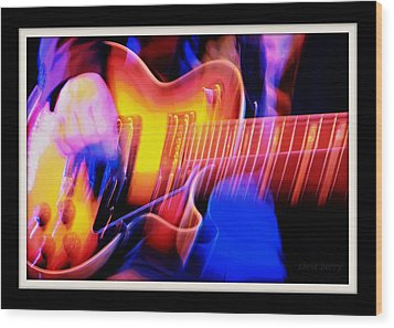 Wood Print featuring the photograph Live Music by Chris Berry