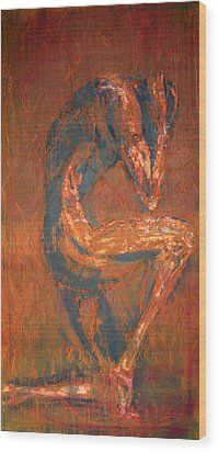 Wood Print featuring the painting Live Rust by Jarko Aka Lui Grande