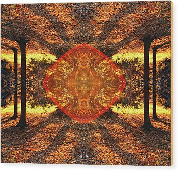 Living Light Wood Print