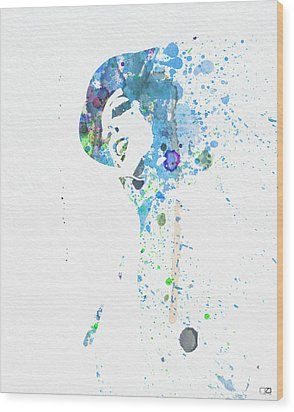 Liza Minnelli Wood Print by Naxart Studio