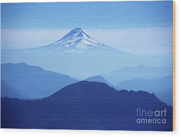 Llaima Volcano Chile Wood Print by James Brunker