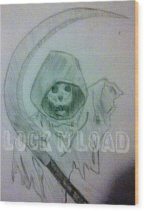 Lnl Reaper Specter Wood Print