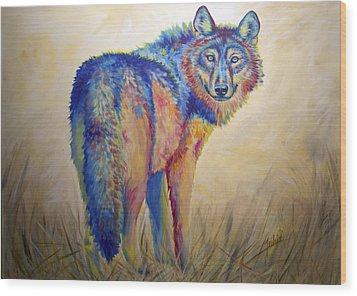 Lobo Legend Wood Print