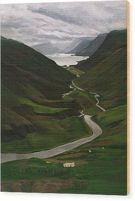 Loch Assynt Wood Print