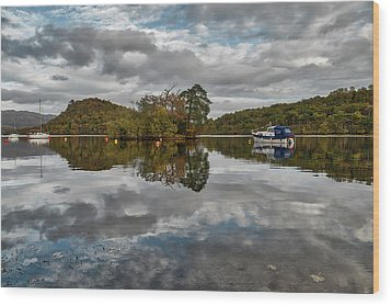 Loch Lomond At Aldochlay Wood Print